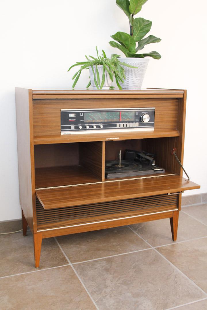 Radio Meubel Jaren 60.Vintage Radiomeubel Jaren 70 Rosita Ascona