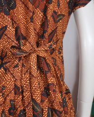 vintage-batik-vlisco-afrikaanse-jurk-bruin-3