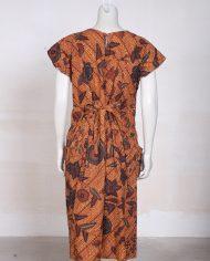 vintage-batik-vlisco-afrikaanse-jurk-bruin-4