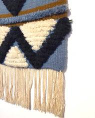 vintage-blauw-oker-wandkleed-geweven-3