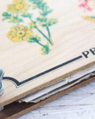 vintage-bloemenpers-hout-2