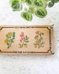 vintage-bloemenpers-hout-3
