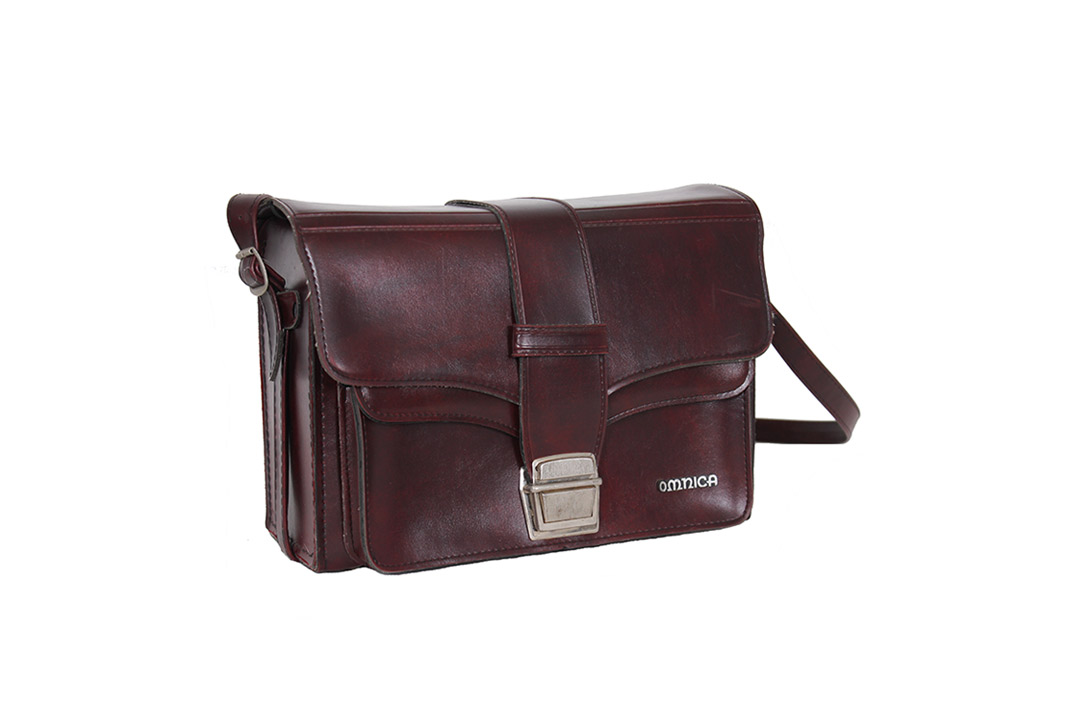 Roodbruine Omnica vintage cameratas - Froufrous