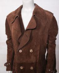 vintage-bruine-suede-lange-trenchcoat-jas-2