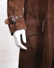 vintage-bruine-suede-lange-trenchcoat-jas-3