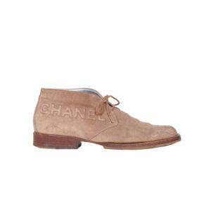 vintage-chanel-schoenen-beige-suede-1