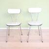 vintage formica stoelen