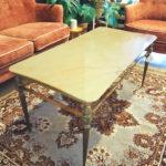 vintage franse marmeren salontafel