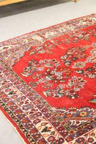 vintage-gebloemd-kleed-rood-rozenkelim-perzisch-tapijt-4