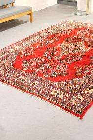 vintage-gebloemd-kleed-rood-rozenkelim-perzisch-tapijt-7