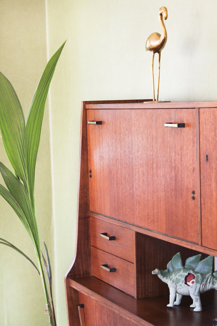 Highboard Vintage Simple Credenza Or Highboard With Bar Sold With