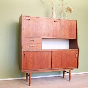 vintage-highboard-kast-buffetkast-houten-jaren-70-60-2