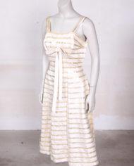 vintage-jaren-50-jurk-gouden-band-beige-cocktailjurk-3