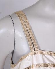 vintage-jaren-50-jurk-gouden-band-beige-cocktailjurk-4