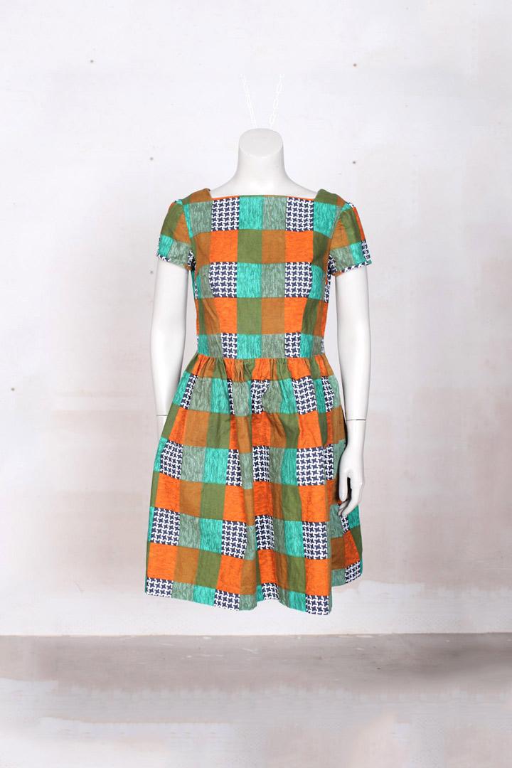 jaren 70 jurkje