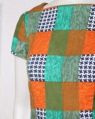 vintage-jaren-70-jurkje-print-oranje-groen-geruit-3