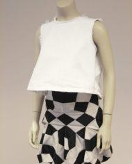vintage-junya-watanabe-comme-des-garcons=zwart-wit-blokken-rokje-2