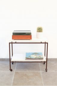 vintage-lp-tafeltje-trolley-platenspeler-bijzettafel8