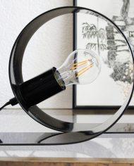 vintage-massive-eighties-nineties-lamp-zwart-looping-4