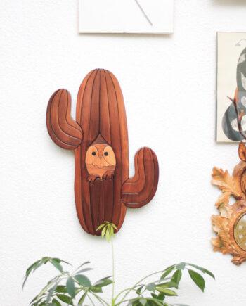 muurdecoratie cactus