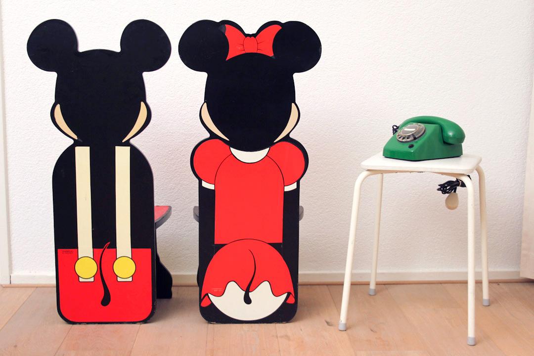 Minnie Mouse Stoel : S mickey en minnie mouse stoelen froufrou s