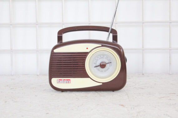 Retro fifties radio