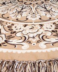 vintage-rond-kleed-tapijt-vloerkleed-tafelkleed-beige-bruin-3