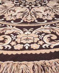 vintage-rond-kleed-tapijt-vloerkleed-tafelkleed-beige-bruin-4