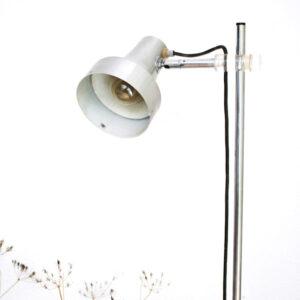 rvs vloerlamp