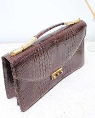 vintage-slangenleren-handtas-bruin-4