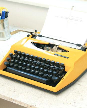 gele typemachine