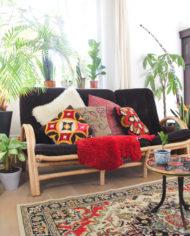 vintage-vloerkleed-rood-wit-zwart-tapijt-patroon-oosters-2