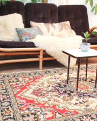 vintage-vloerkleed-rood-wit-zwart-tapijt-patroon-oosters-3