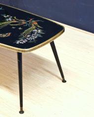 vintage-zwarte-pauwen-tafel-goud-pootjes-2