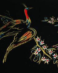 vintage-zwarte-pauwen-tafel-goud-pootjes-4