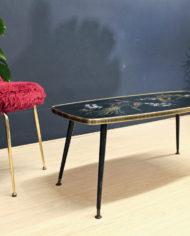 vintage-zwarte-pauwen-tafel-goud-pootjes-7