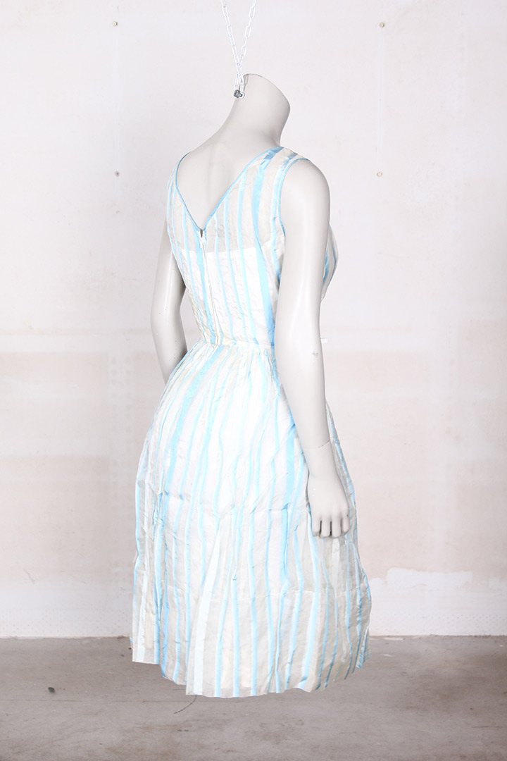 vintage jurk wit