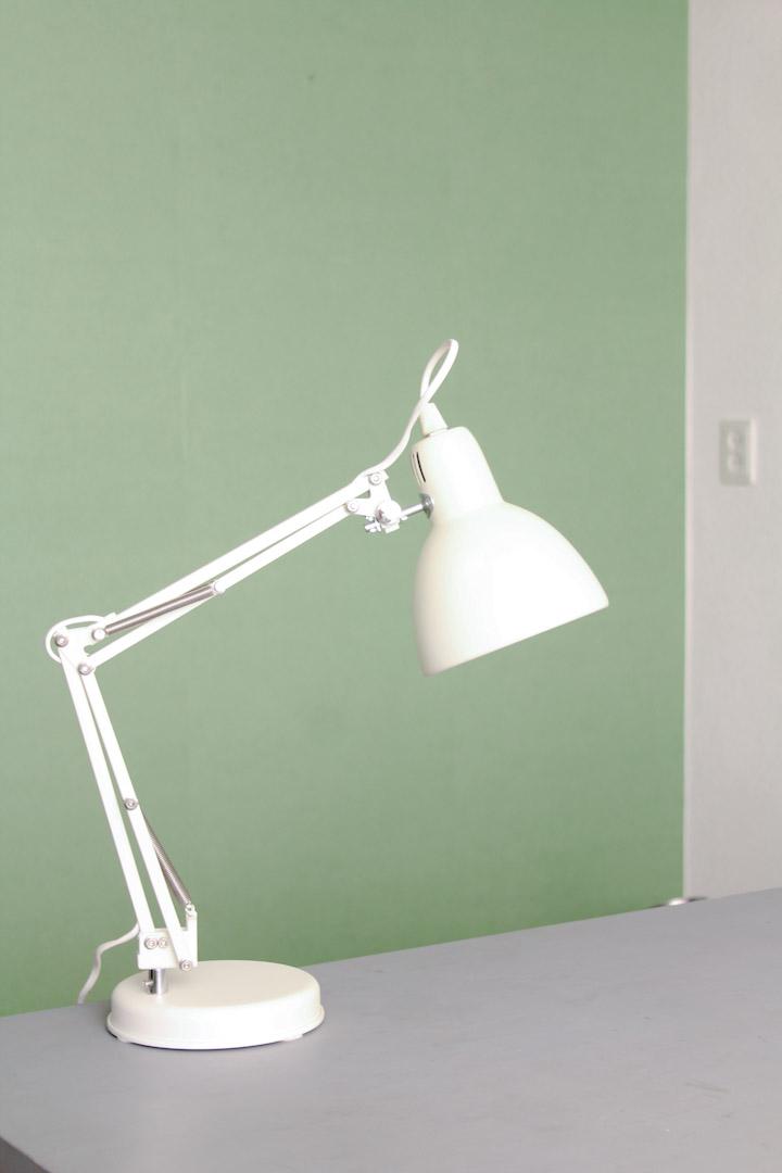 Verbazingwekkend Retro bureaulamp wit / schaarlamp - Froufrou's IG-93