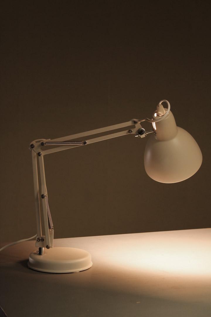 Verwonderend Retro bureaulamp wit / schaarlamp - Froufrou's YT-71