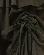 yohji yamamoto-y-s-zwarte-gelaagde-rok-rusches-design-4